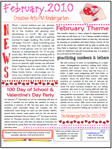 preschool newsletters for parents march newsletter day care parent